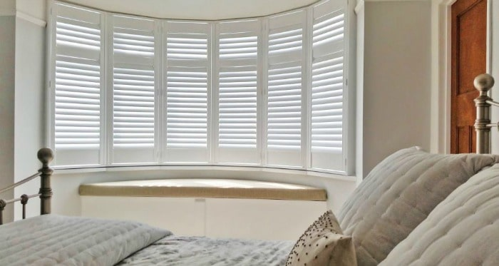 Panel Shutters for Bay Windows