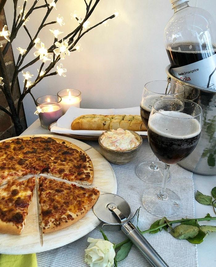 cheap Asda Valentine Day dinner