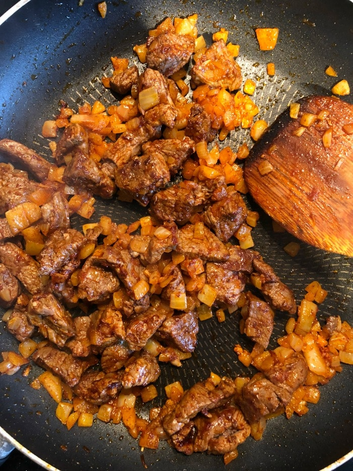 leftover lamb frittata