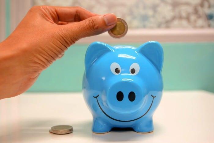 saving piggy bank