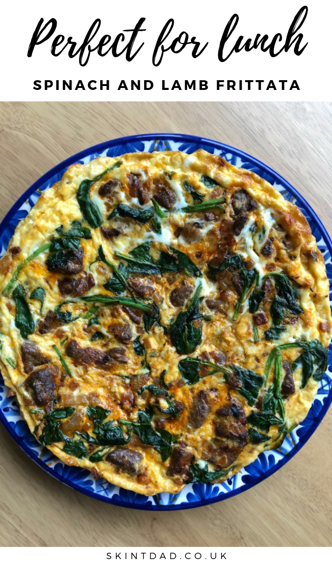 This is a simple Lamb and Spinach Frittata recipe to use up your leftovers and reduce food waste, and the Lamb Frittata is perfect for popping in your lunchbox for work.