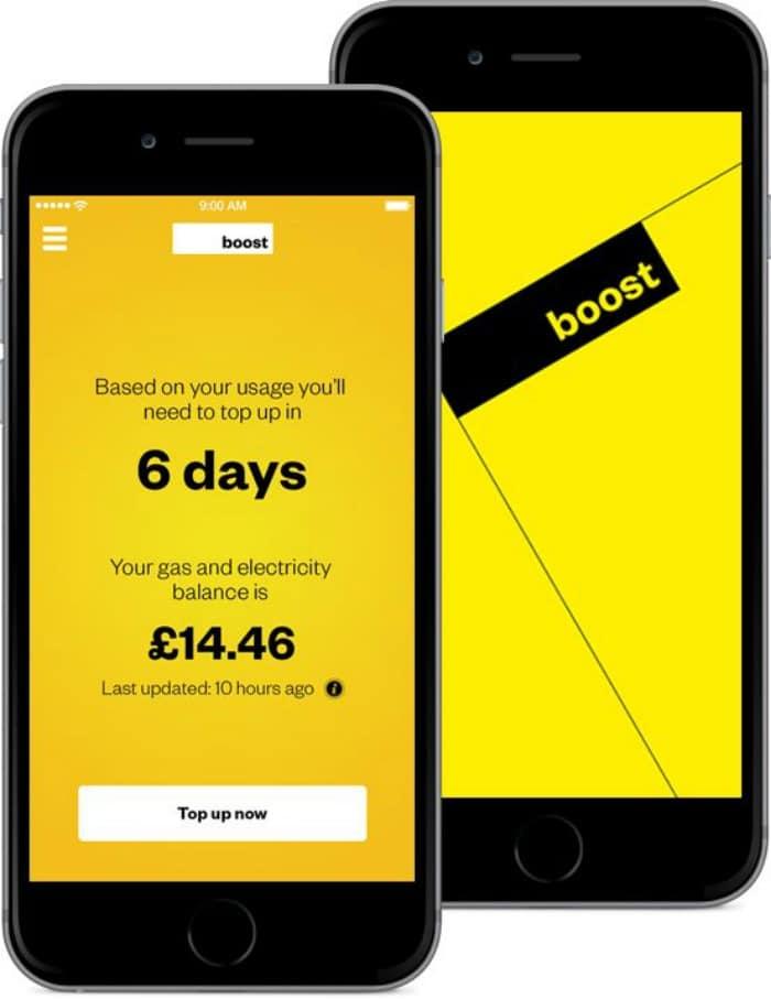 Boost energy app