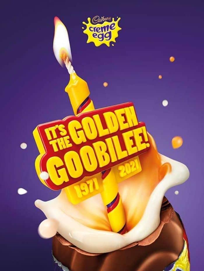 Cadbury Creme Egg Golden Goobilee