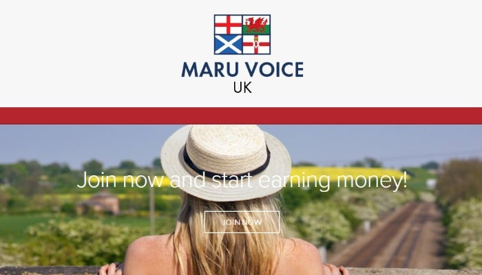Earn Money Giving Your Opinions with Maru Voice - Skint Dad