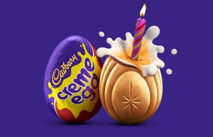 gold cadburys creme egg