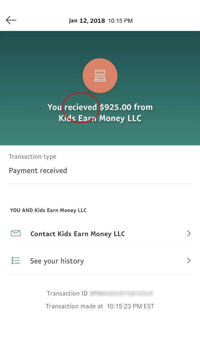kids earn money scam