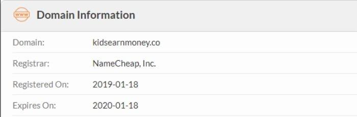 kidsearnmoney new scam website