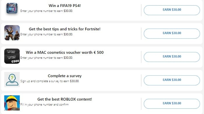 task wall scam surveys