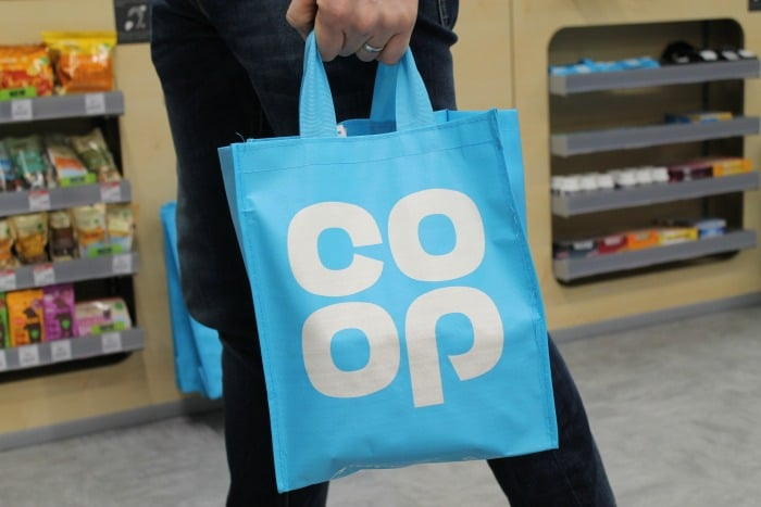 Bolsa de compras cooperativa