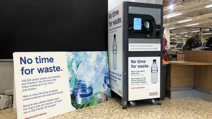 Tesco Reverse Vending Machine