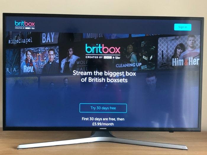 britbox streaming service