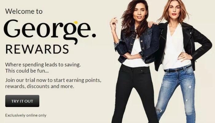 george rewards loyalty scheme