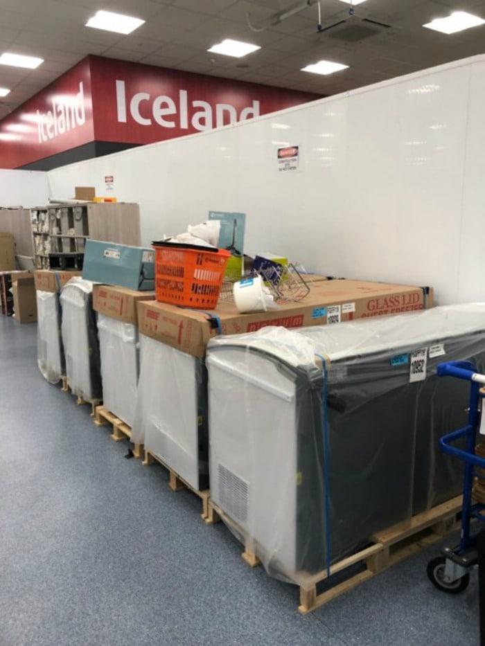 new freezers Iceland Foods The Range