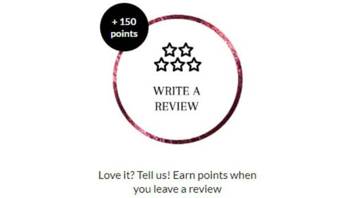 write review get loyalty points