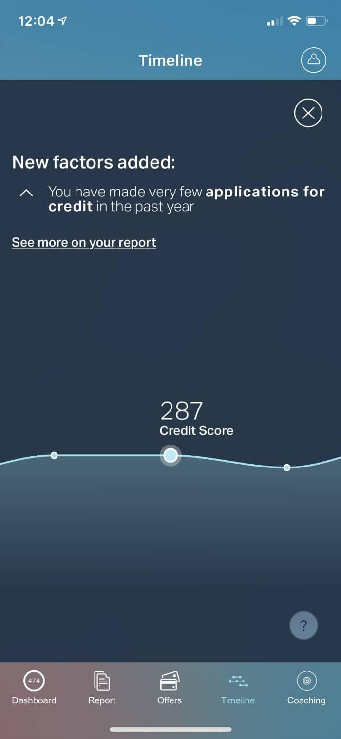 ClearScore Timeline September 16