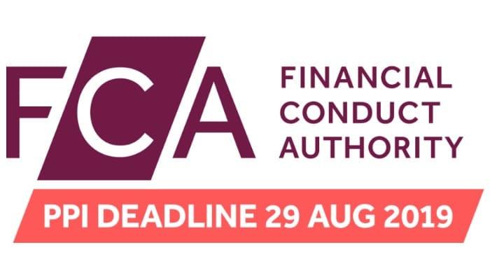 FCA PPI deadline 29 Aug 2019