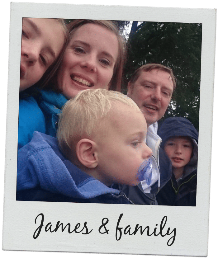 James Galston and family