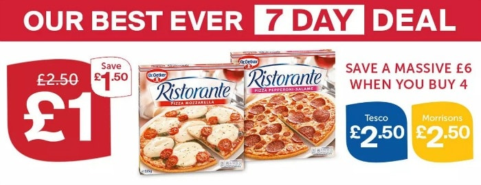 iceland 7 days deal pizza