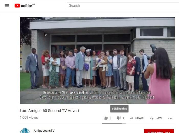 high interest amigo loans video