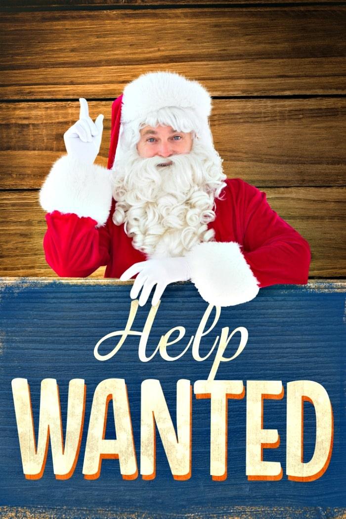 Christmas temp jobs