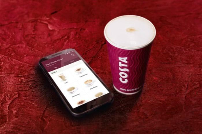free costa coffee