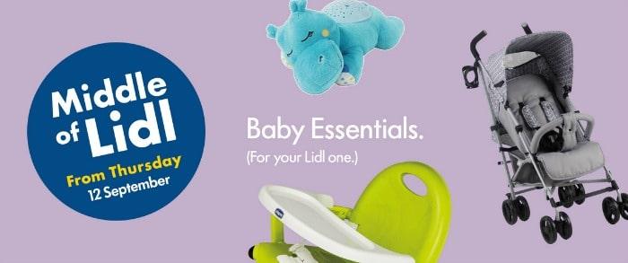 lidl baby sale September 2019