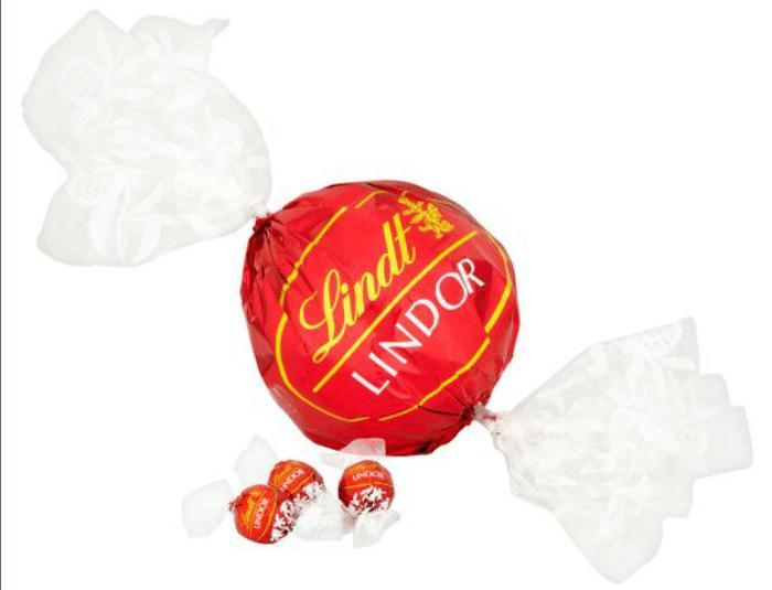 Lindor Maxi Ball Milk
