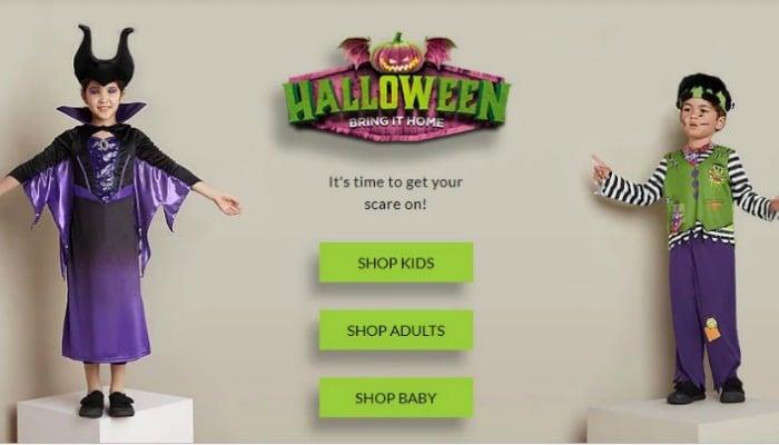 asda halloween clothes