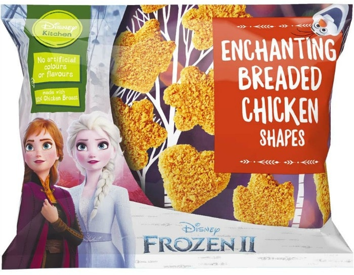 Enchanting Breaded Chicken Shapes