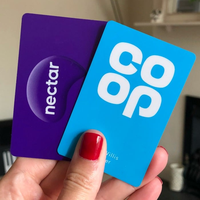 nectar coop loyalty cards