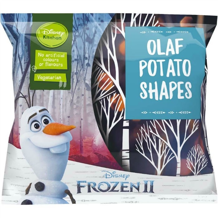 Olaf Potato Shapes