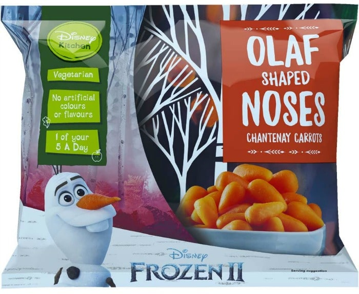 Olaf shaped noses