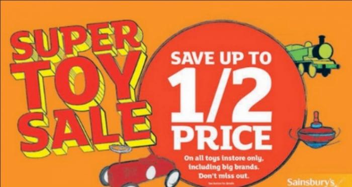 super toy sale sainsburys