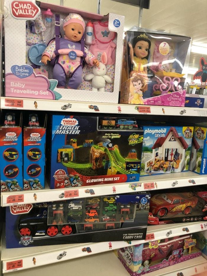 toy sale at sainsburys