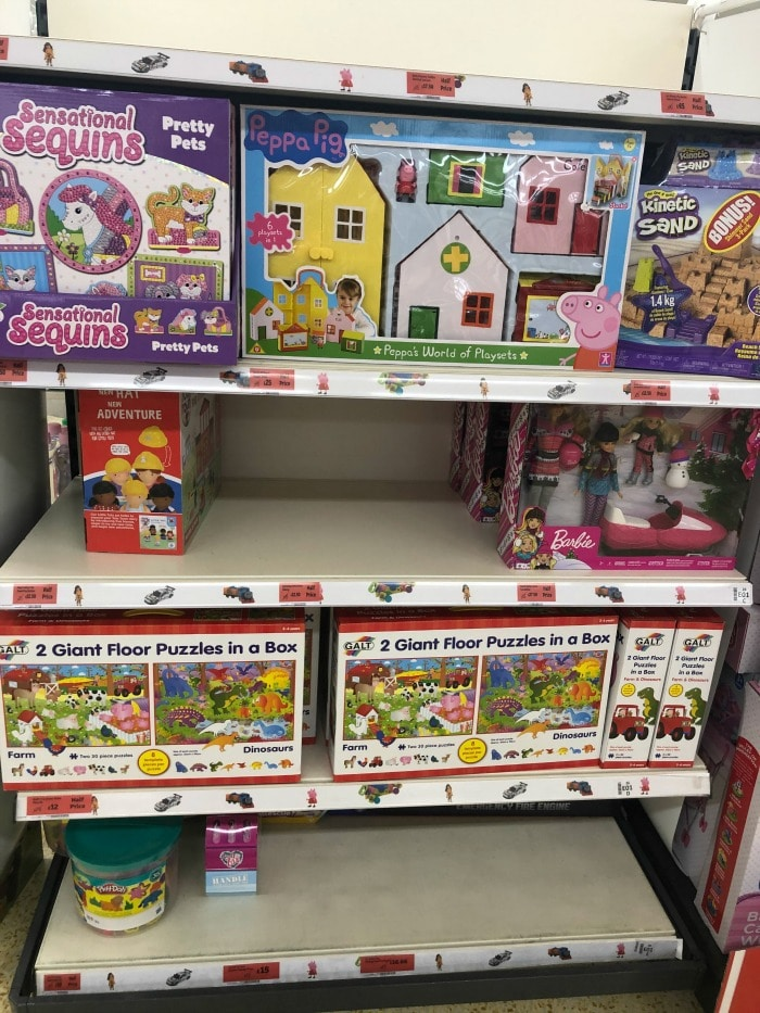 toys selling out at sainsburys