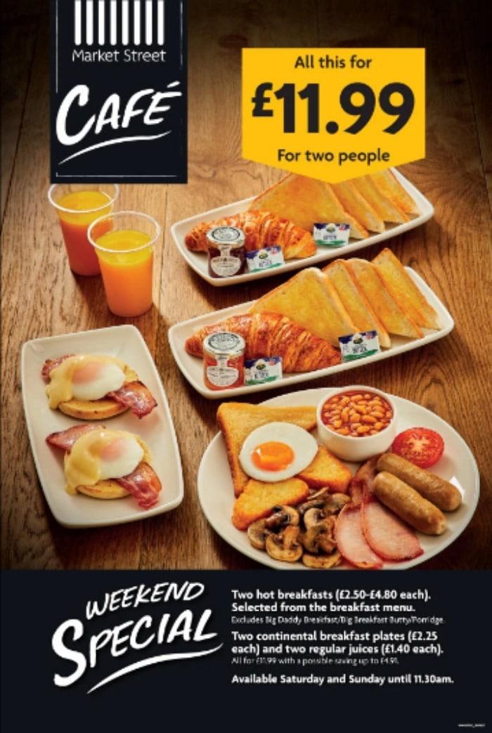 Morrisons Weekend Breakfast Meal Deal for Two