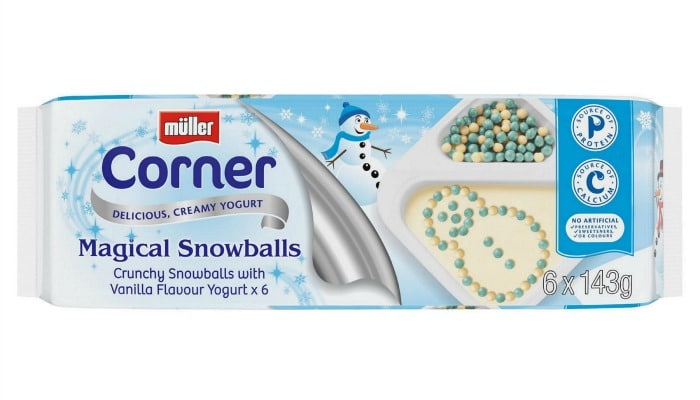 Muller Corner Christmas Magic Snowballs