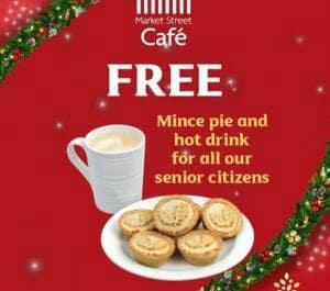free mince pie morrisons