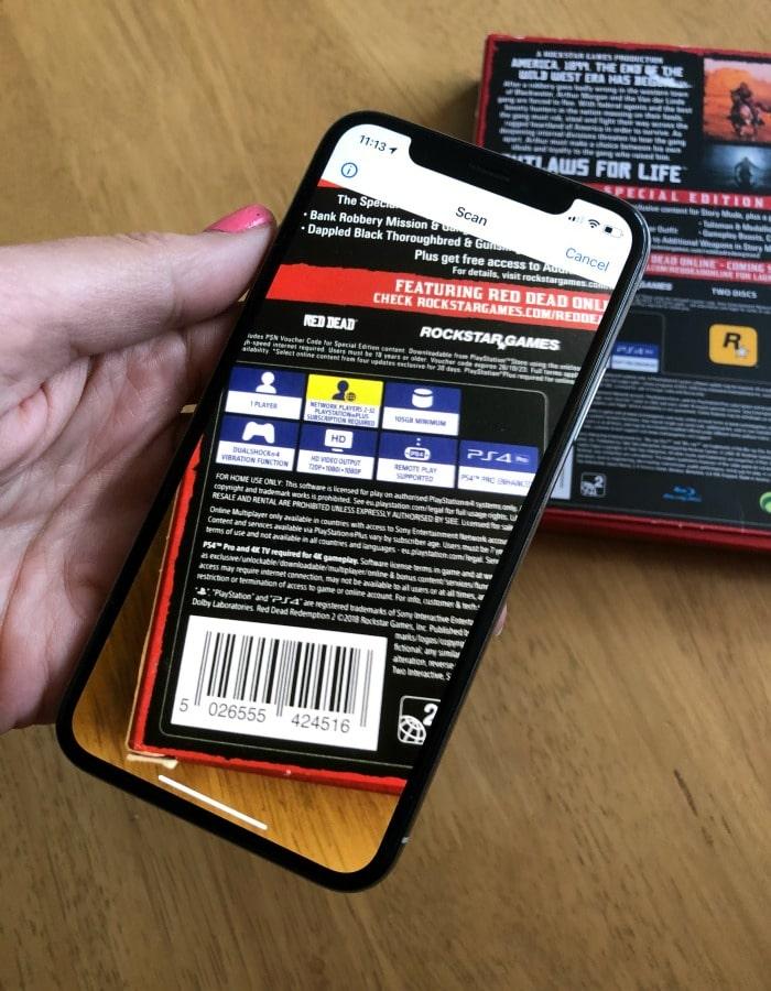 idealo app barcode scanner