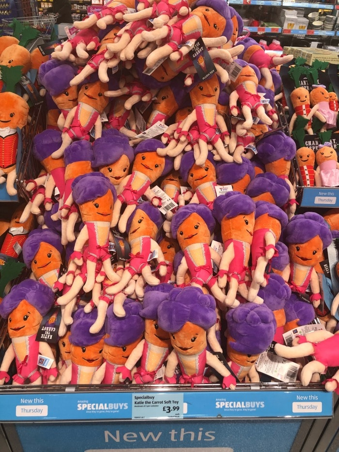 katie the carrot in aldi