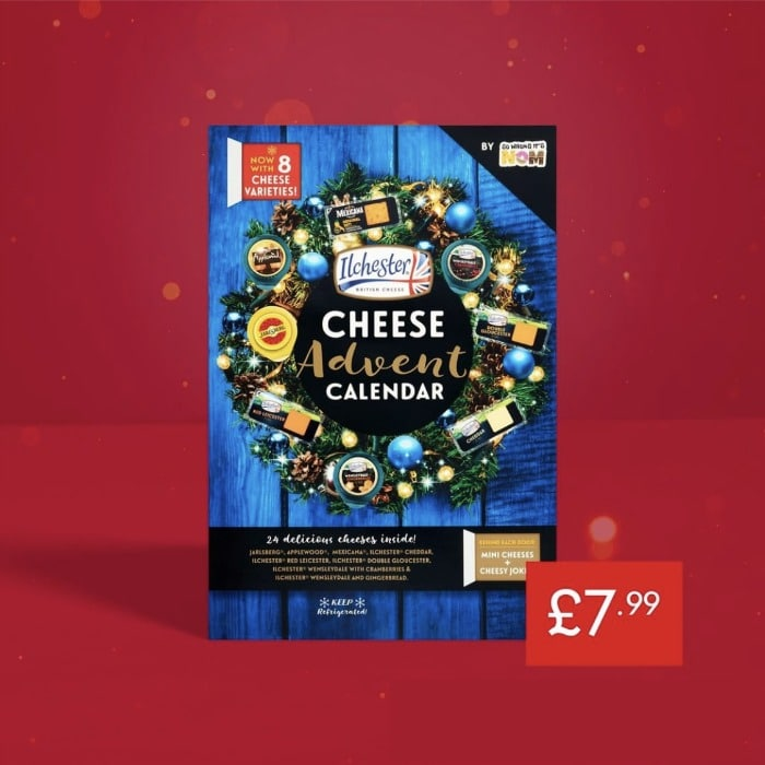 lidl cheese advent calendar