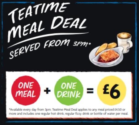 Morrison Cafe Teatime Meal Deal