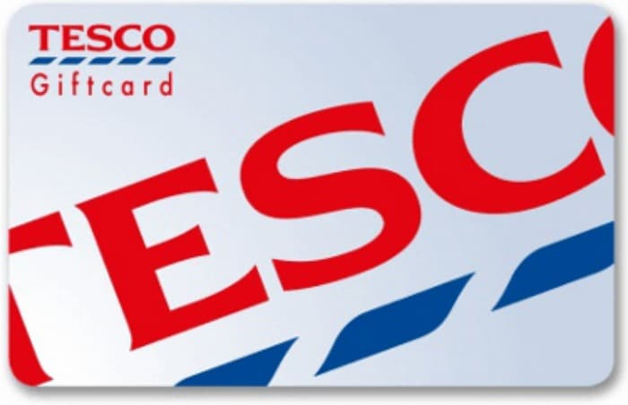tesco gift cards