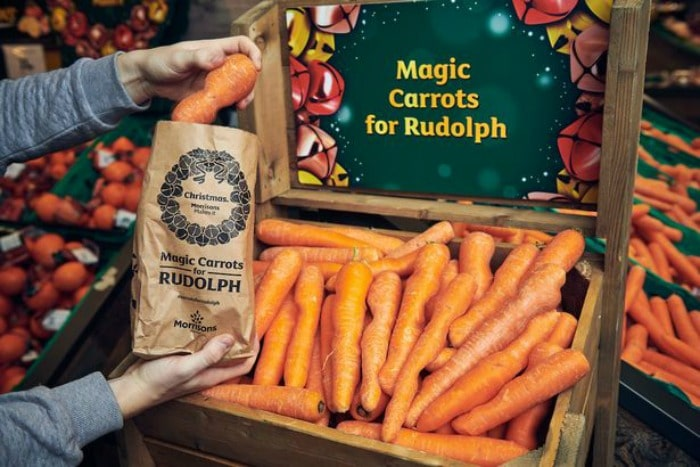 Morrisons free Carrots for Rudolph