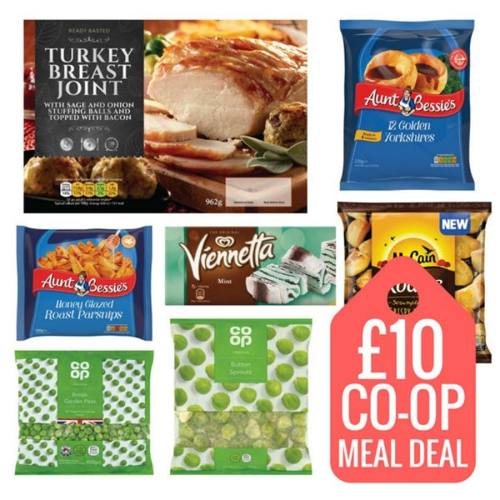 co-op christmas meal deal