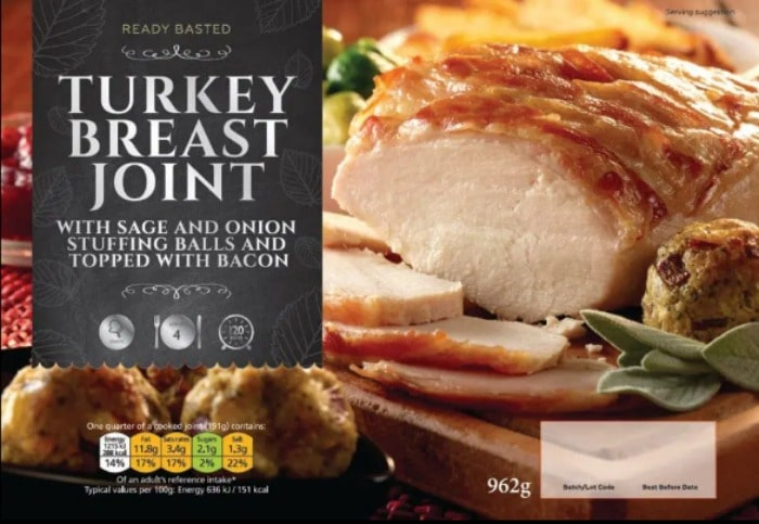coop turkey breast joint meal deal offer