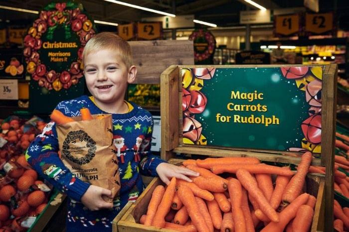 free morrisons carrots
