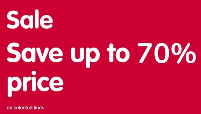 Boots 70 per cent off sale 2020