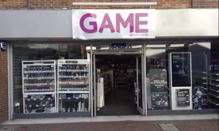 GAME Ashford store