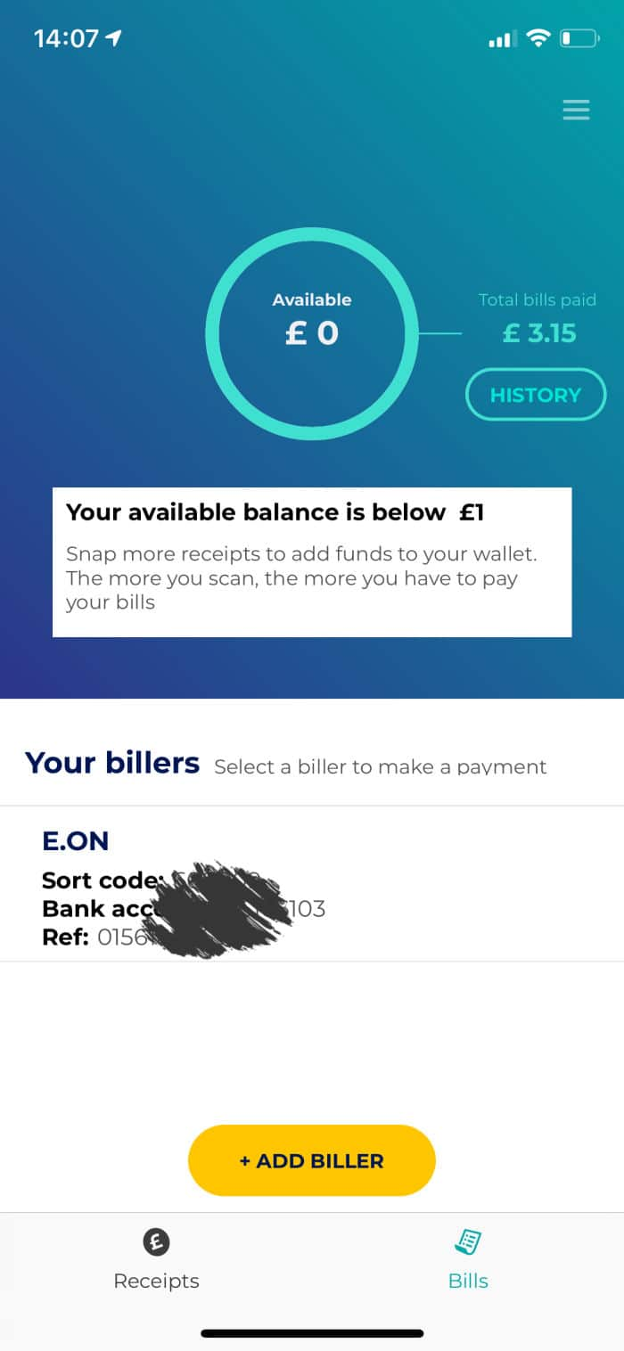 pay bills with zipzero
